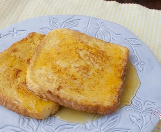 Tostadas francesas o French Toast