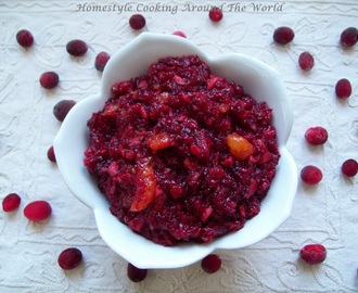 Cranberry Salad/Relish