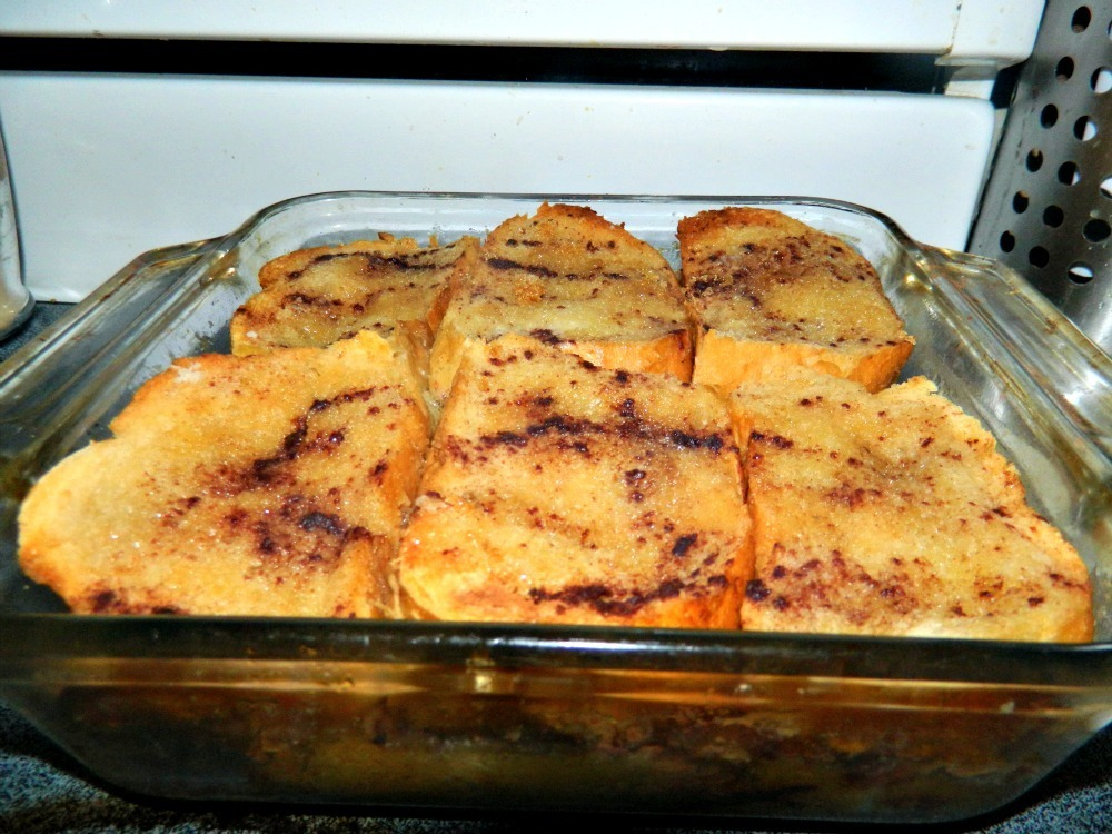 Vegan french toast casserole bake ... need I say more?