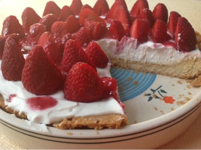 Strawberry Cheesecake Tart