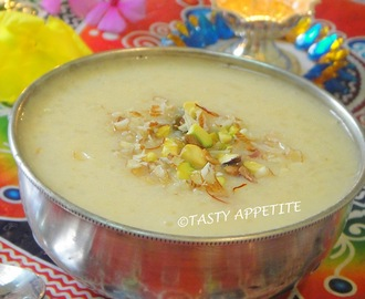 How to make Pal Payasam  / Milk Kheer / Easy Step-by-Step Recipe: