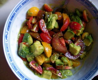 Cherry Tomato & Avocado Salad