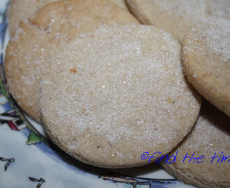 Mexican Orange Sugar Cookie