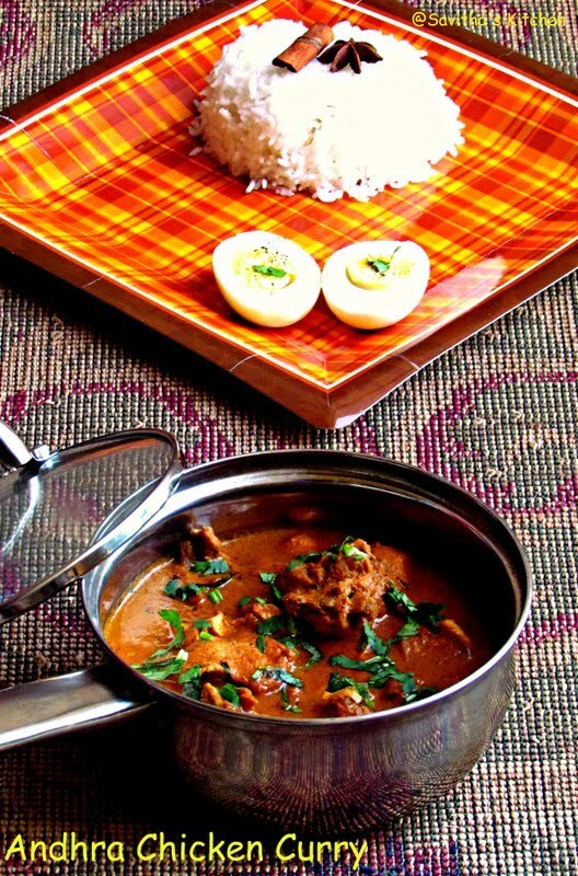 Kodi Kura / Andhra Chicken Curry - Best Chicken curry ever I ate