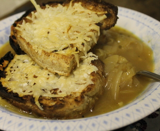 French onion soup with a bit of oomph!