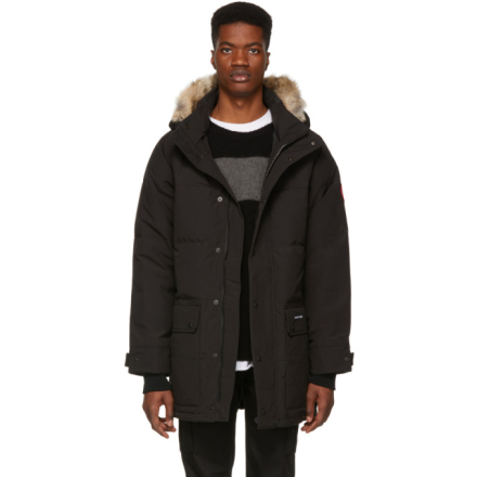 Canada Goose Black Down Emory Parka