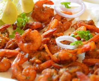 Spicy Prawn Pakora / How to make Prawn Pakora / Step-by-Step: