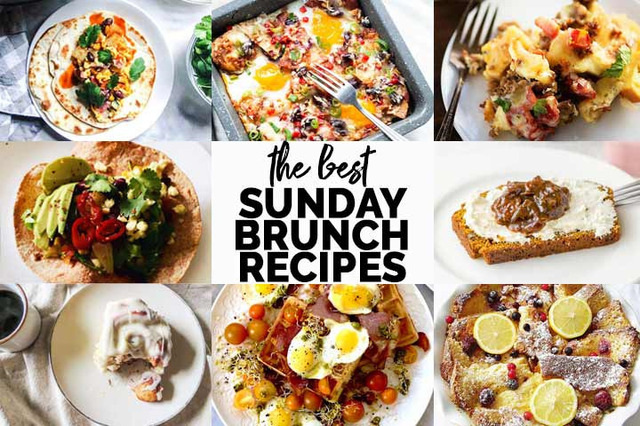 9 delicious Sunday brunch recipes