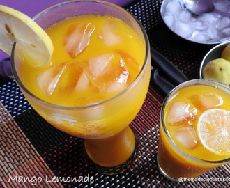 Mango Lemonade #CookoutWeek
