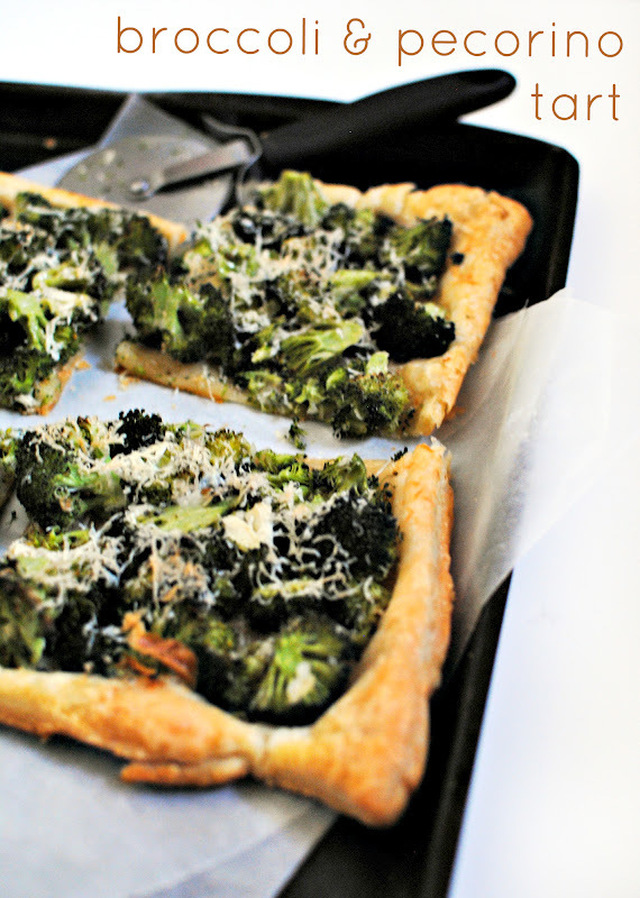 Broccoli & Pecorino Tart (Grown-up Trees with Cheese)