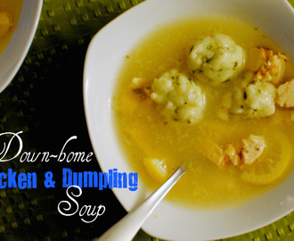 Down Home Chicken & Dumpling Soup