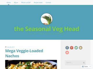 the seasonal veg head
