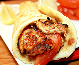 Chicken Shawarma with Garlic Oil