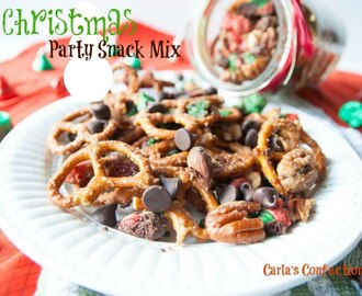 Christmas Party Snack Mix