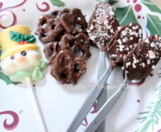 Making candies and chocolate ~~ A sweet for the sweet.