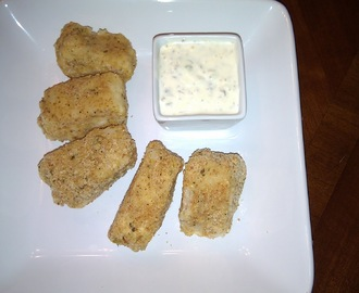 Fish Nuggets with Tartar Sauce