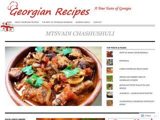 Georgian Recipes