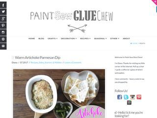 Paint Sew Glue Chew