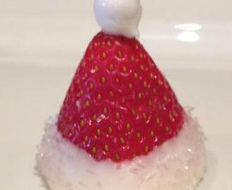 Santa's Strawberry Hat!!