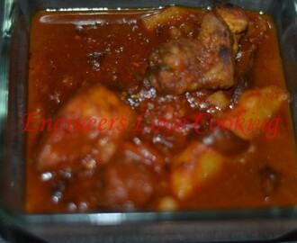 AYAM SAMBAL BEREMPAH / CHICKEN IN SPICY HOT SAUCE
