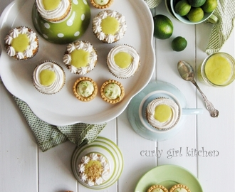 Key Lime Pie Cupcakes and Key Lime Cream Cheese Tartlets