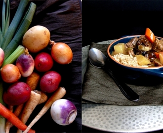 Lamb Stew with Root Vegetables and Dried Plums