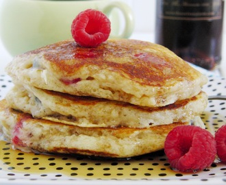 Berry Buttermilk Pancakes and Pecan-Crusted Chicken...  with a little Something Special in common...
