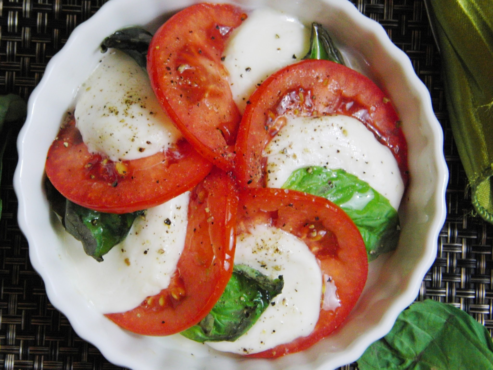 It's never the wrong season for the flavors of Caprese...