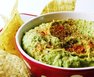 Avocado Hummus and Homemade Horseradish