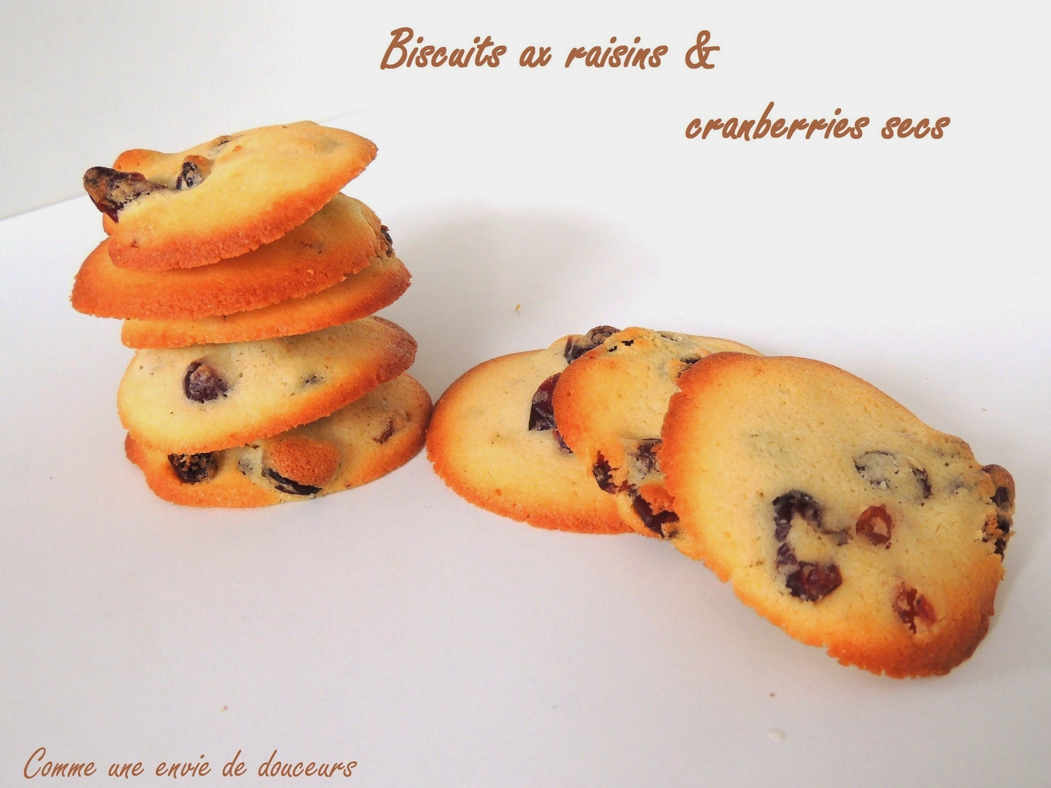 Biscuits aux fruits secs