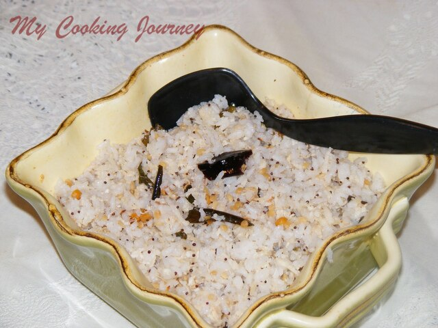 Thengai Saadham/Coconut Rice