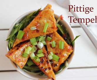 Pittige Chili Tempeh