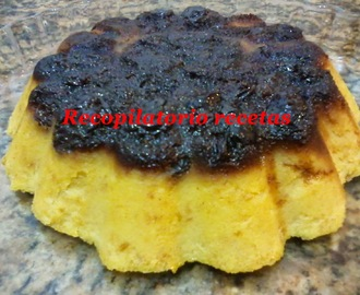 "Pudin de pan en thermomix ""Varoma"""