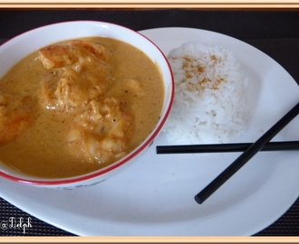 Gambas au curry