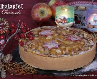 Bratapfel Cheesecake - Baked Apple Cheesecake