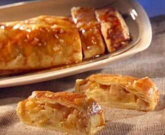 Das Pear Pineapple Strudel