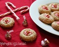{5th Day of Christmas} Peppermint Kiss Cookies