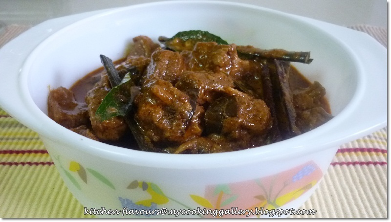 Red Pork Curry : IHCC
