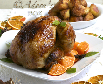 CHRISTMAS SPICED ROAST CHICKEN