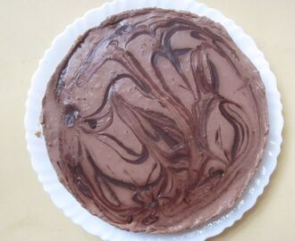 No Bake Double Chocolate Cheesecake
