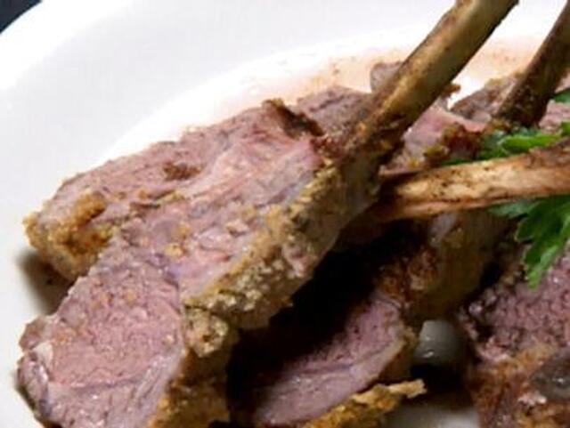 Garlic and Herb Crusted Lamb Chops