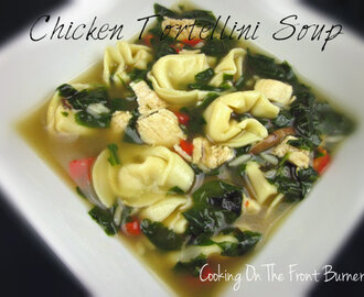 Chicken Spinach Tortellini Soup