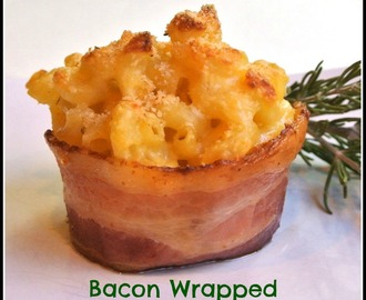 Bacon Wrapped Mac & Cheese