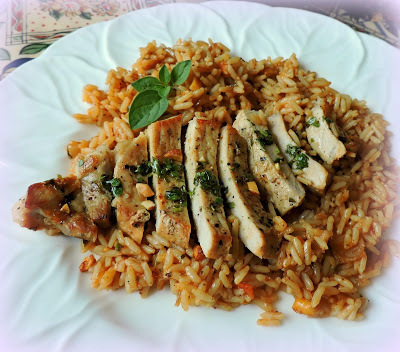 Pork Chops with Spicy Rice