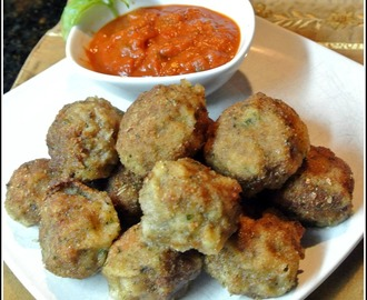 Ricotta Fried Meatballs