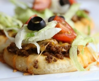 Mini Taco Pizza Recipe