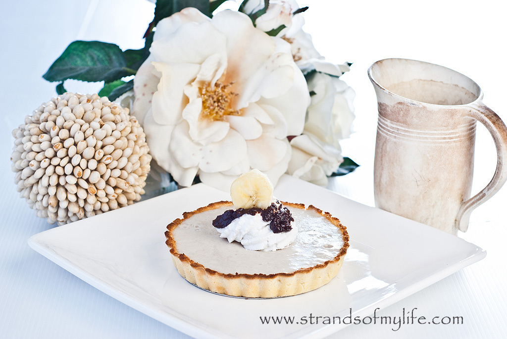 Banana Mousse Tarts – gluten-free recipe and low FODMAP