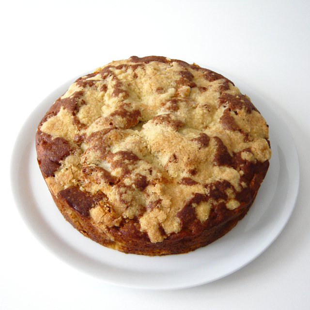 Bizcocho irlandés de manzana (Irish apple crumble cake)
