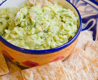 Homemade Chips and Guacamole
