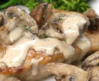 Rosemary Portobello Chicken
